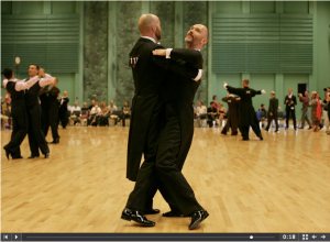 Ballroom dancing at the World Outgames in Copenhagen
